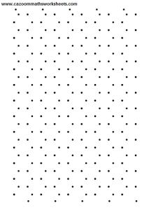 Hexagon dotty paper