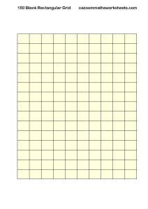 Blank 150 Rectangular Grid
