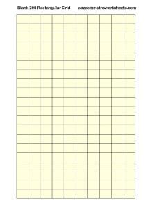Blank 200 Rectangular Grid