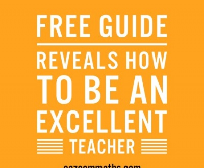 how to be an excellent teacher