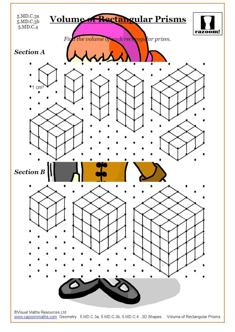 Surface Area And Volume Worksheets Printable Pdf Worksheets