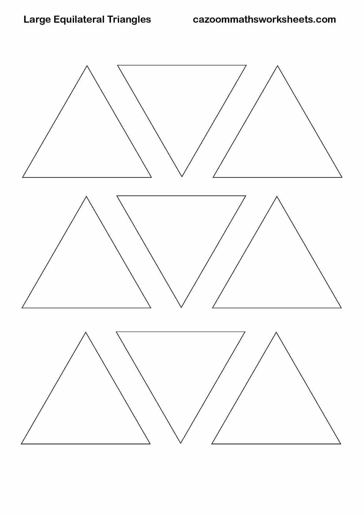 image relating to Printable Triangles identified as Absolutely free Maths Training Components KS3 KS4 Pleasurable Maths Products