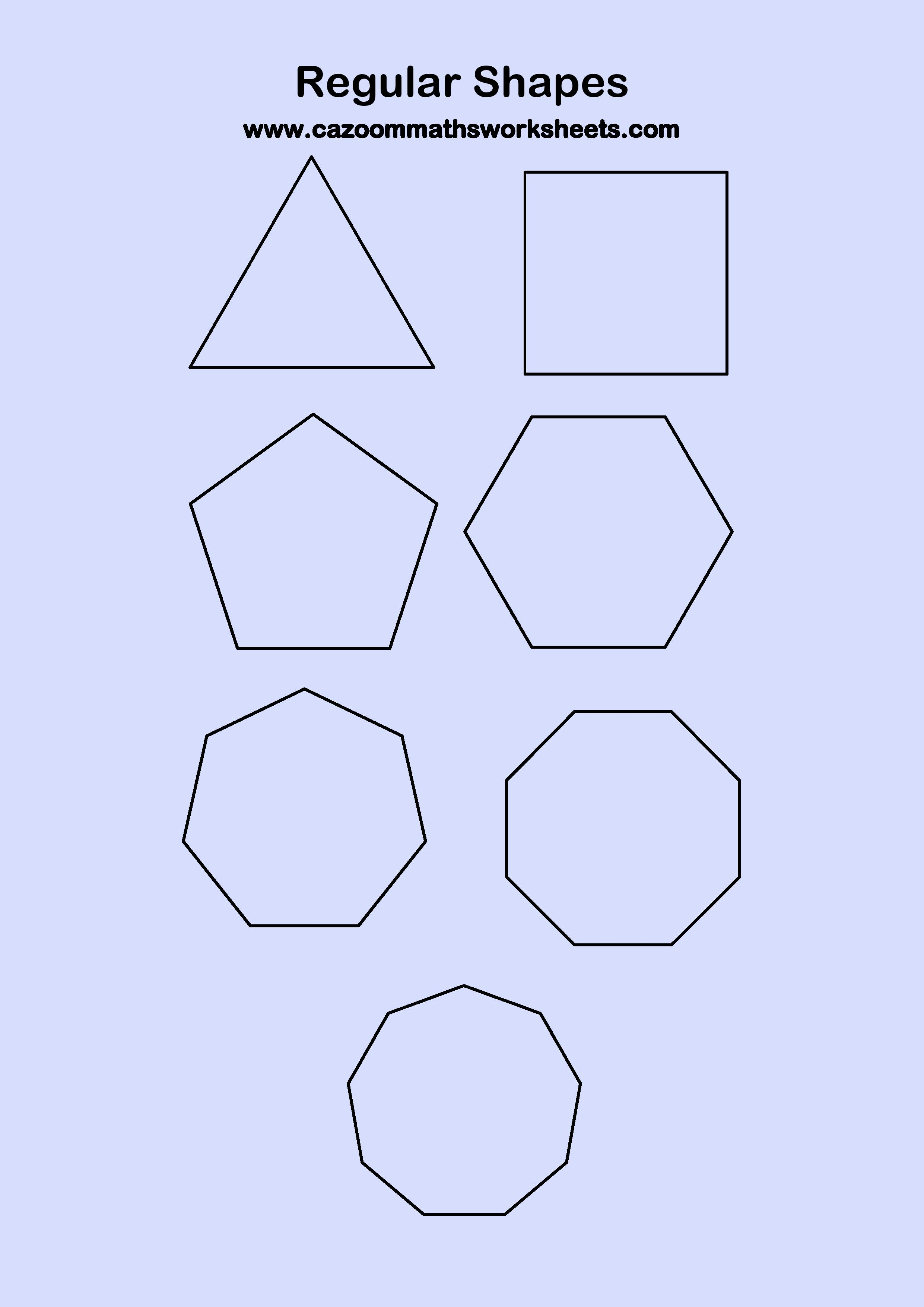 Regular Hexagon Shape Regular Polygon Shapes...