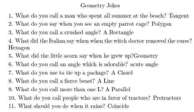 Maths Jokes Cazoom Maths Worksheets