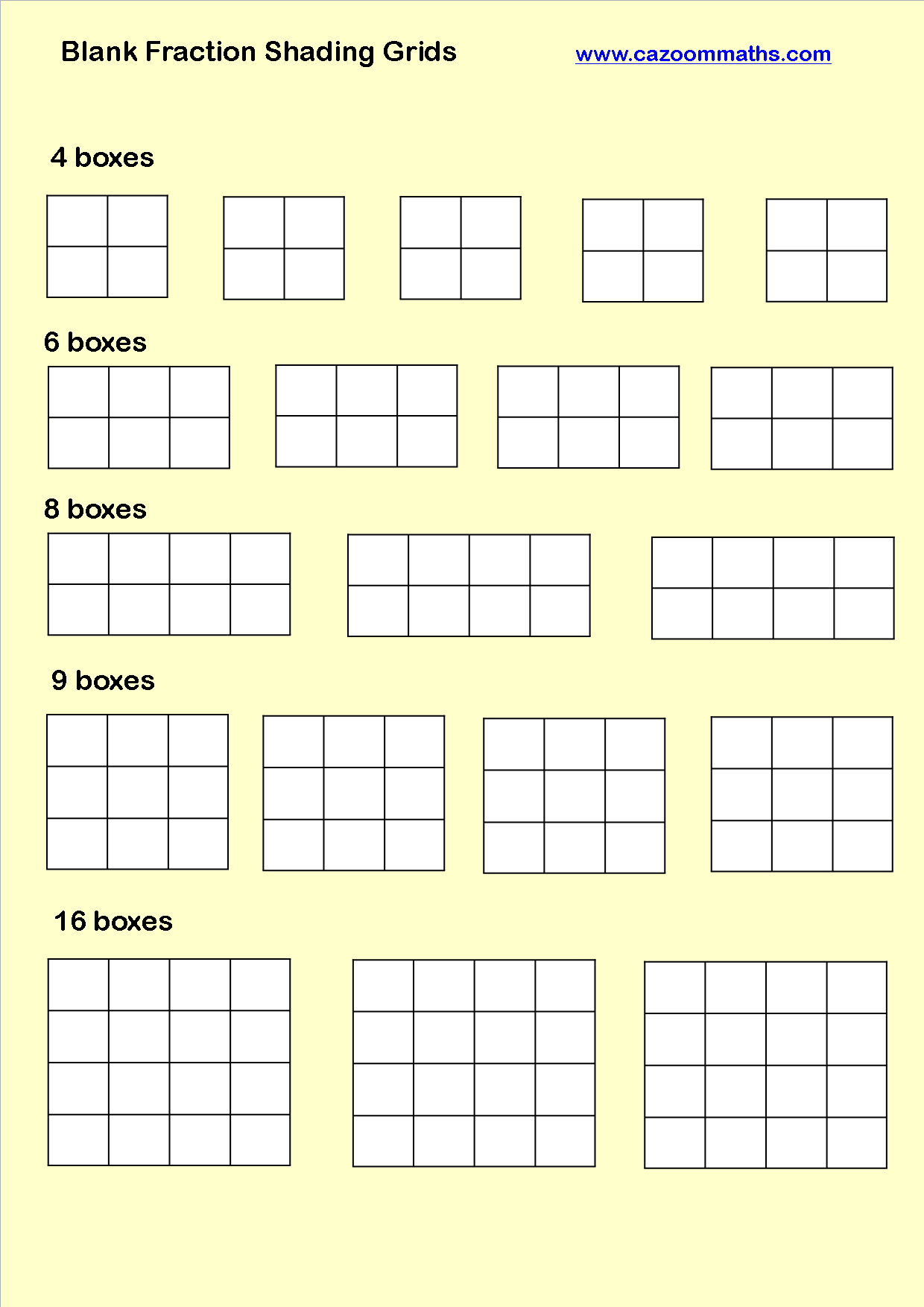 Cazoom Maths Worksheets Number Resources Math Worksheets