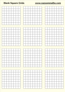 Blank Square Grids