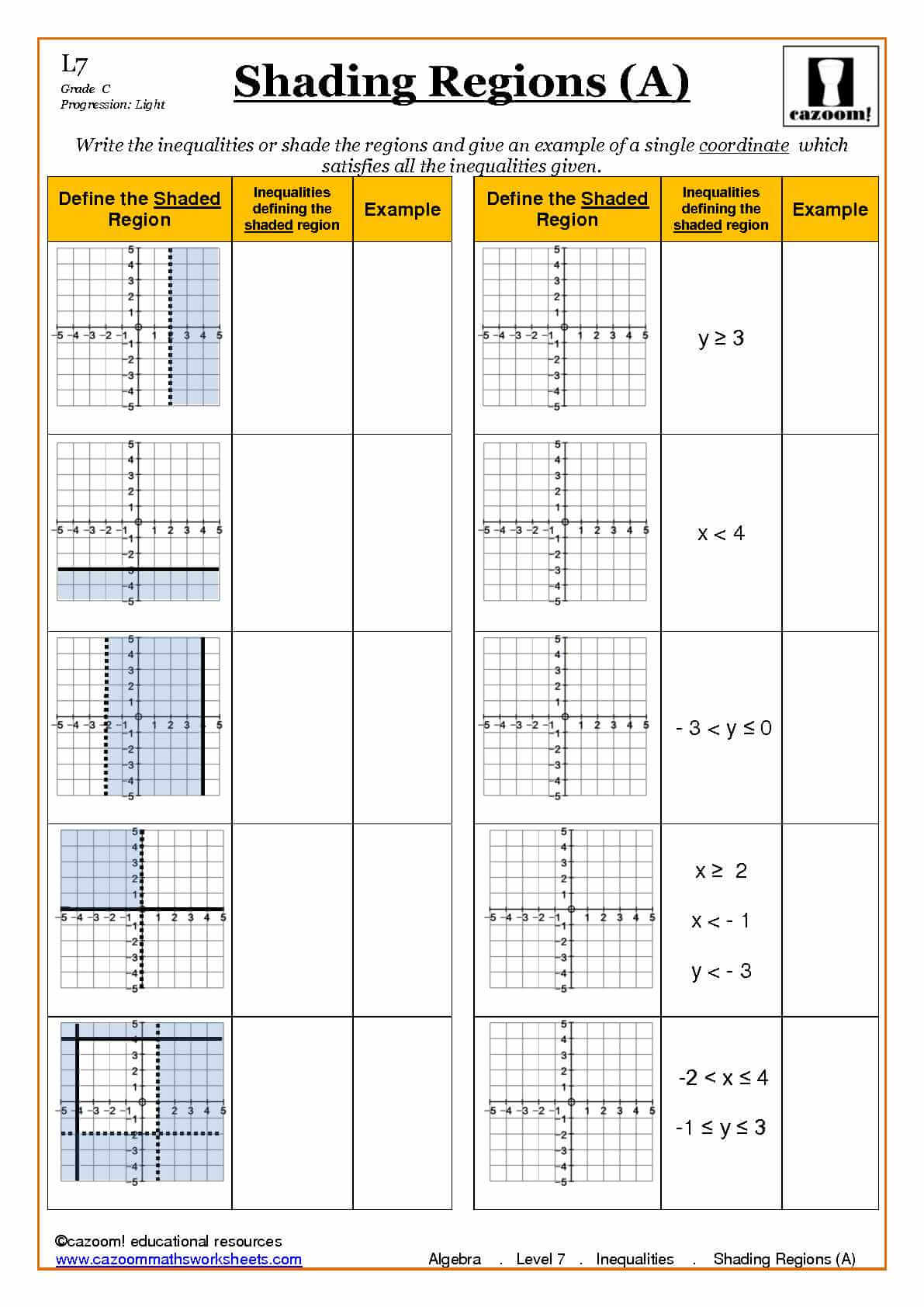 math worksheet : algebra with cazoom maths : Ks3 Fractions Worksheets