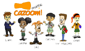 Cazoom Family with Names Transparent