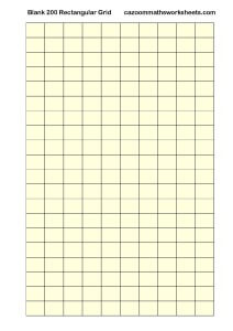 Blank 200 Rectangular Grid