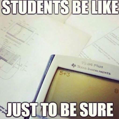 students be like joke