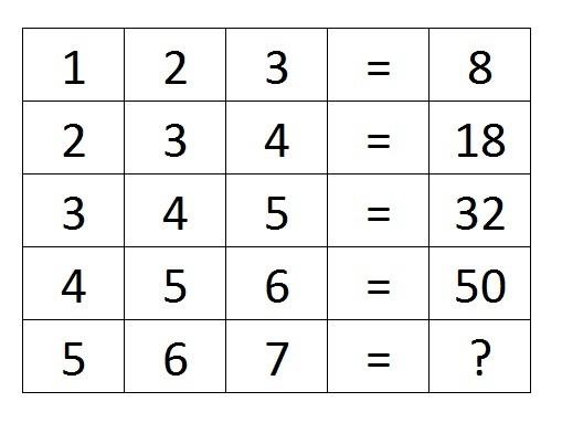Images of Interesting Maths Puzzles With Answers - #rock-cafe
