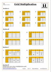 multiplication Year 7 Maths Worksheets Pdf