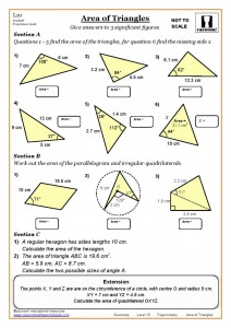 Year 9 Maths Worksheets