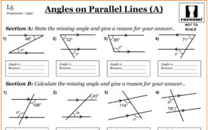 parallel lines cut by a transversal worksheet additionally IXL   Transversals of parallel lines  find angle measures  Geometry also  besides  furthermore Angles and Parallel Lines in Geometry  ex les  solutions likewise Parallel Lines And Angle Pairs Worksheets furthermore Angles Formed by a Transversal Worksheets moreover Parallel lines and Transversals Worksheet   Finding the Unknown furthermore Parallel Lines  and Pairs of Angles also Angles Formed by a Transversal Worksheets besides Angles Formed by a Transversal Worksheets likewise Angles on Parallel Lines   Cazoom Maths Worksheets as well Problems with Angles in Parallel Lines further Transversal Lines   Worksheet   Education together with Parallel Lines and Angles Worksheet   Problems   Solutions also KS3 Angles in Parallel Lines worksheet by jlcaseyuk   Teaching. on angles and parallel lines worksheet
