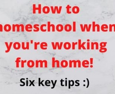 Homschooling when working from home