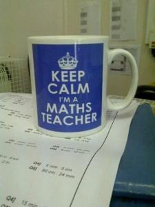 keep calm I am a maths teacher