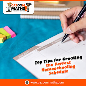 top tips for creating the perfect homeschooling schedule