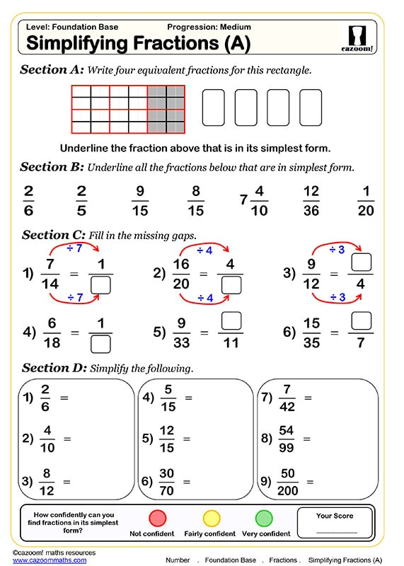 KS3 Maths Worksheets
