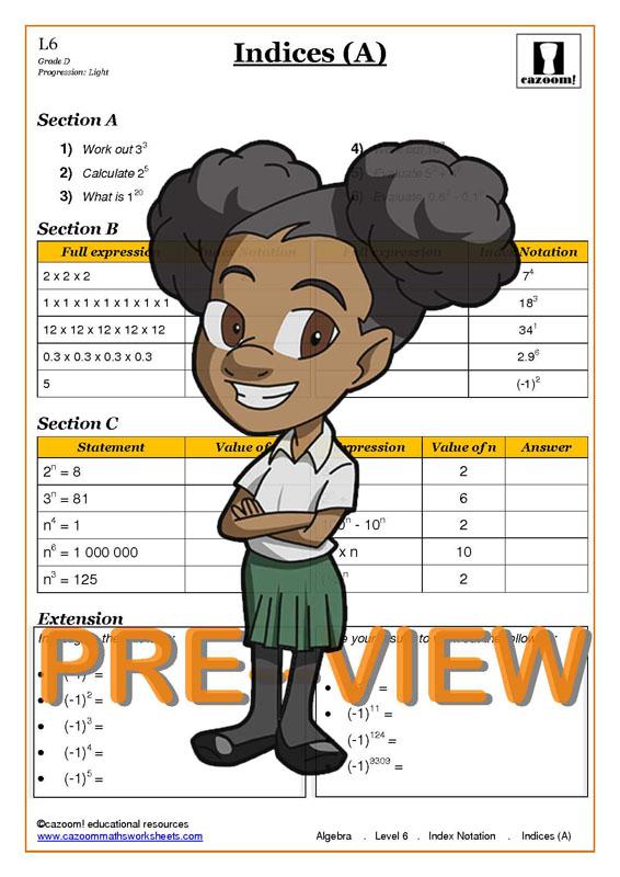year 7 algebra worksheets printable math worksheets. Black Bedroom Furniture Sets. Home Design Ideas