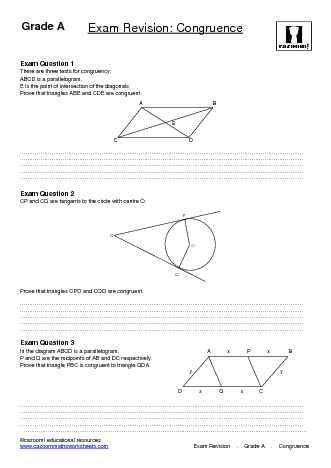 Maths Revision Worksheets | Cazoom Maths Worksheets