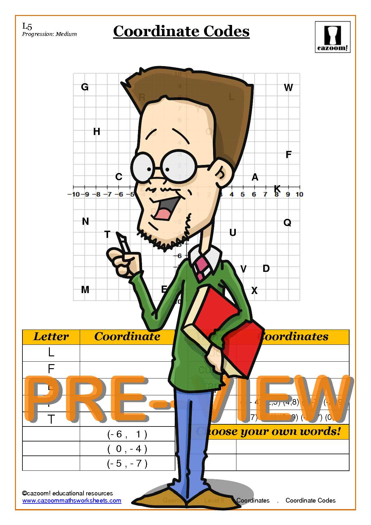 Coordinates Worksheets KS3 PDF | 3D Coordinates Worksheet