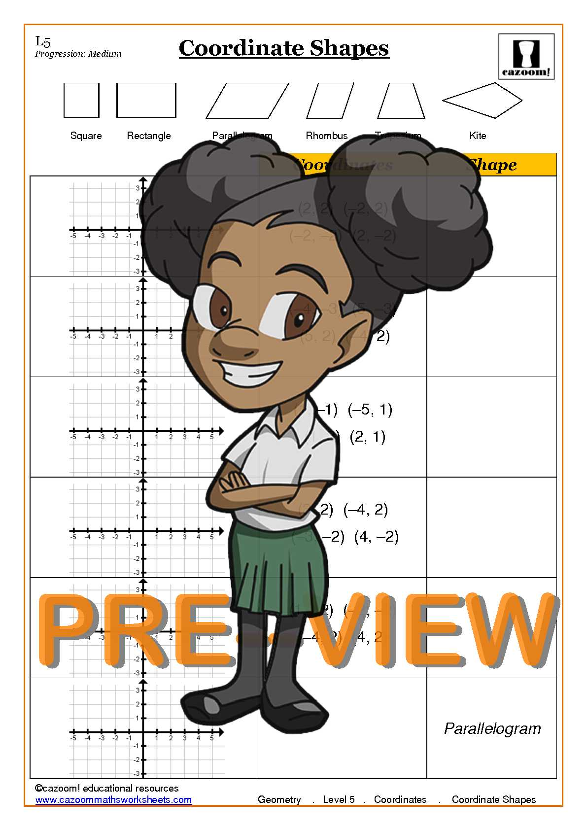 Coordinates worksheets ks3 pdf