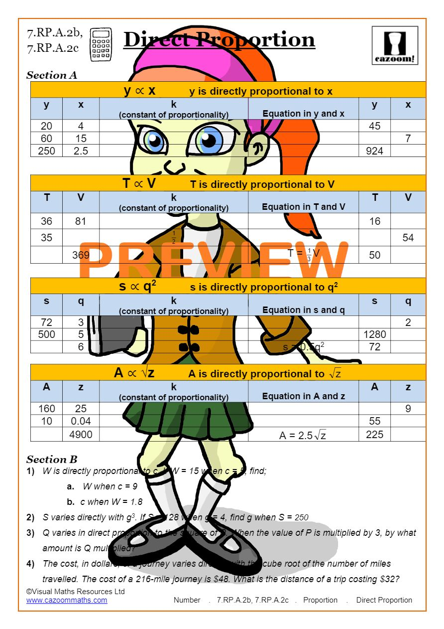 Substitution Math Worksheets   Common Core Worksheets
