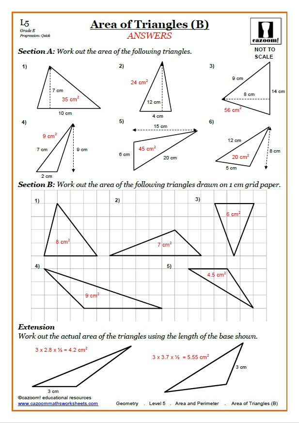 Area Worksheets KS3 Perimeter Area Worksheets – Free Area Worksheets
